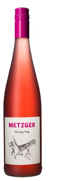 Flying Pig Rosé Perlwein Weingut Metzger, Grünstadt