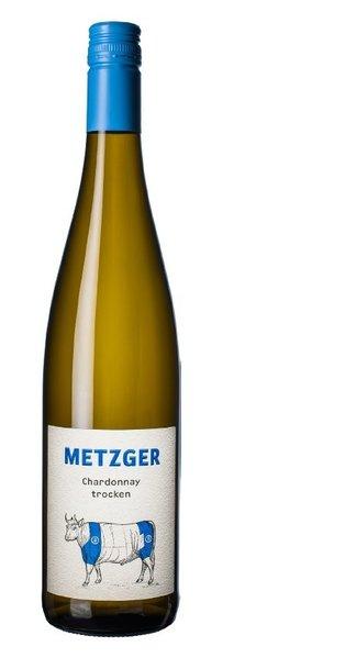 """Chardonnay trocken """"Pastorenstück"""" Weingut Metzger, Grünstadt 2020"""