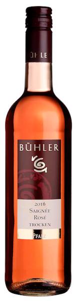 Rosé Cuvée Saignée QbA trocken, Bühler 2019