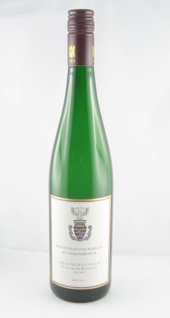 Michelfelder Himmelberg Grauburgunder trocken, Weingut Graf Hoensbroech 2018