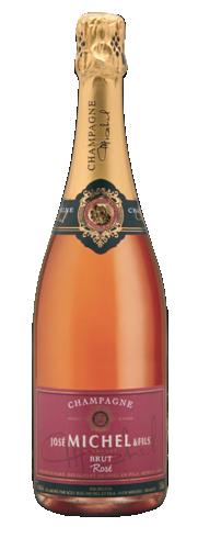 Champagne José Michel Rosé brut