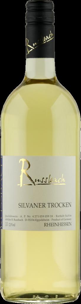 Silvaner trocken 1,0 Ltr. Weingut Russbach, Rheinhessen 2019