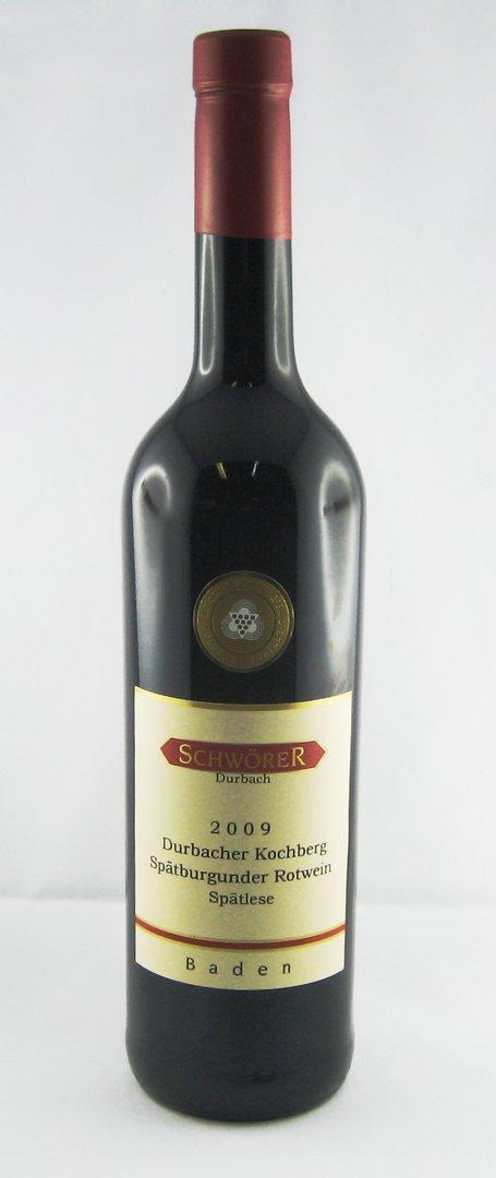 Durbacher Kochberg Spätburgunder Rotwein Spätlese Weingut Schwörer Durbach 2016
