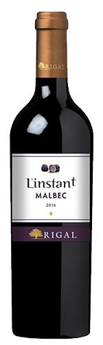 """Malbec """"L´Instant"""" IGP Comté Tolosan Maison Rigal 2019"""