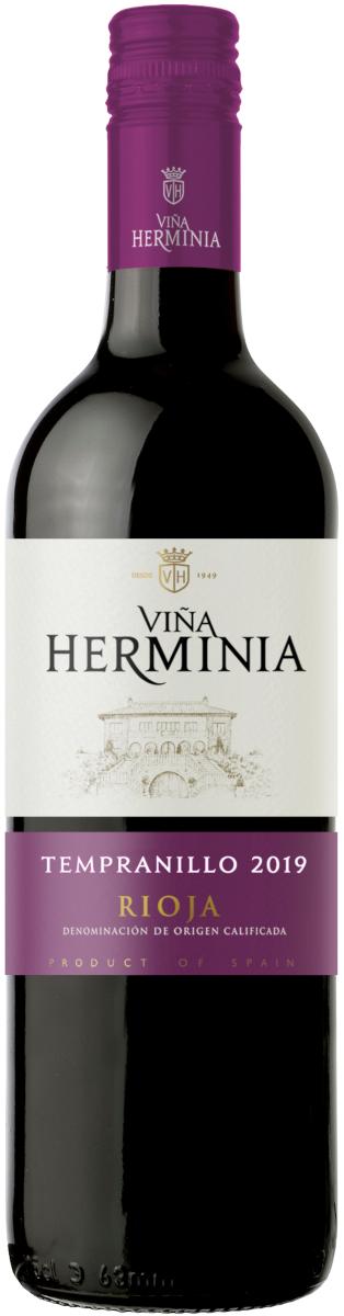 Rioja Tinto D.O. Tempranillo, Vina Herminia 2019