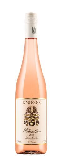 Clarette Rosé trocken Weingut Knipser 2020