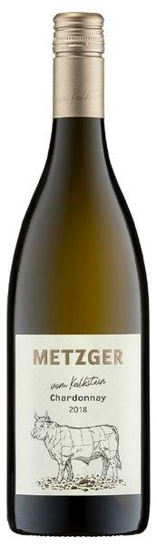 Chardonnay vom Kalkstein  trocken Weingut Metzger Grünstadt 2019