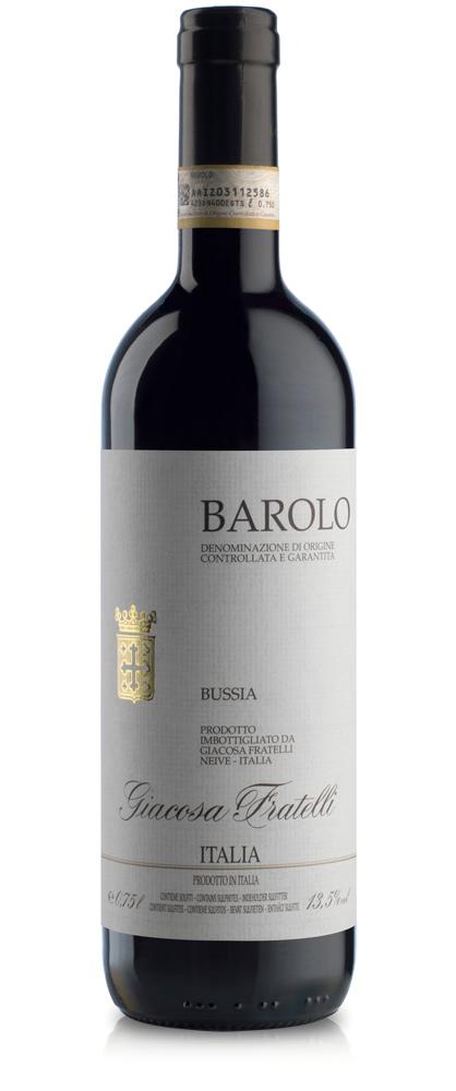 "Barolo ""Bussia""DOCG Fratelli Giacosa, Neive / Piemont 2015"